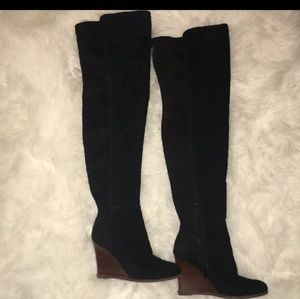 Vince Camuto Suede Over The Knee Boots